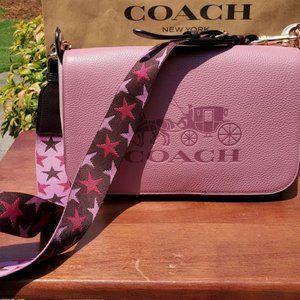 Authentic Coach Rose Jes Messenger Bag